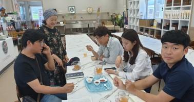 서울 현대 백화점 MD 방문
